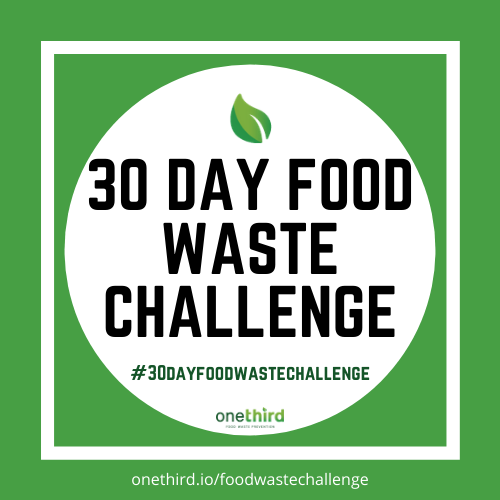 30 day food waste challenge