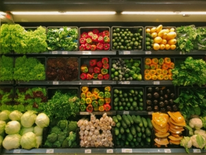 fresh produce in store