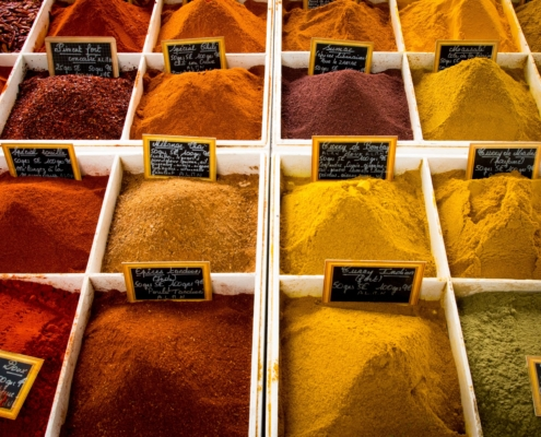 food authentication of spices
