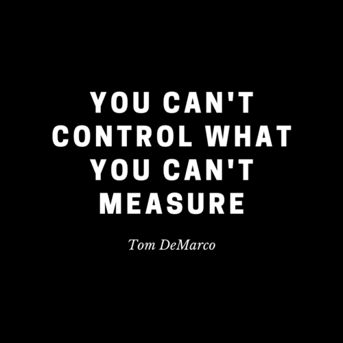 quote about measuring