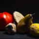 picture of rotting fruits and vegetables